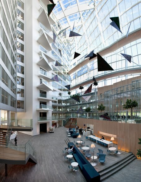 the edge atrium